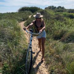 Quincy Davis, Montauk's Coolest Surfer Chick, On Summer Wellness & More