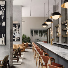 Inside Nearly Ninth, NYC's New All-Day Hot Spot