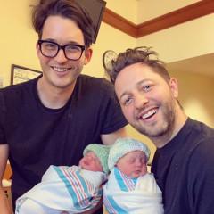 Derek Blasberg & Nick Brown Are New Dads!