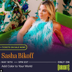 Add Color to Your World With Sasha Bikoff