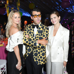 The High Society Set Reunited For The Return Of Black Tie At The New York Botanical Garden Spring Gala
