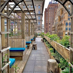 Your First Look At Happy Be, Tribeca's Artsy New Rooftop Hot Spot