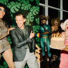 Inside Evan Kline's Jungle-Themed Pride Birthday Celebration