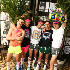 How Amazing Is This 80s Themed Pride Party!?