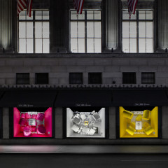 Saks Fêtes the 100th Anniversary of Chanel No. 5 With A Colorful Display