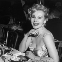 Zsa Zsa Gabor's Ashes Were Treated To Champagne & Caviar In First Class