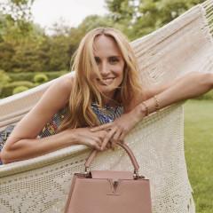 Lauren Santo Domingo & Her Louis Vuitton Capucines Are Having One Enviable Summer