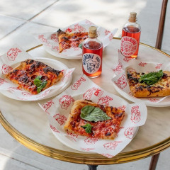 Celebrity-Favorite Pizza Joint Lucali Debuts A New, More Casual Slice Shop