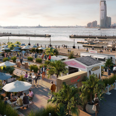 Escape To The Bungalow, Brookfield Place's Montauk-Inspired Waterfront Oasis