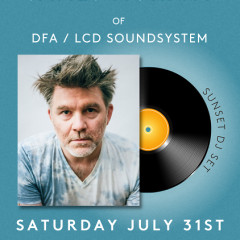 James Murphy of LCD Soundsystem At Surf Lodge