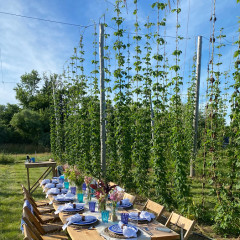 Dinner at The Hoppy Acre With Il Buco & Campo
