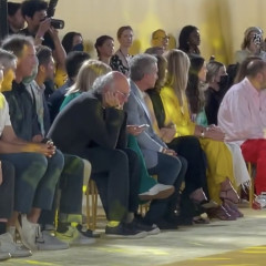 Larry David Clearly Had A Great Time At Fashion Week
