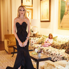 Lauren Santo Domingo Gets Ready For The Met Gala At Home