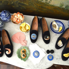 A Dinner Party On Your Shoes?! Inside Chefanie's New Collab With Stubbs & Wootton