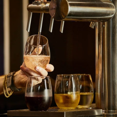 There's A New Italian Wine Bar Hidden Behind A Deli...