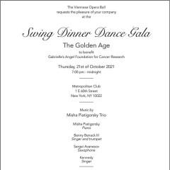 Swing Dinner Dance Gala