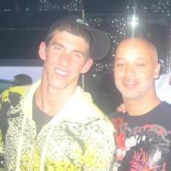 Michael Phelps At China Doll Nightclub In Beijing