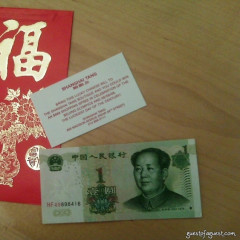 888 Red Envelopes From Shanghai Tang