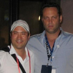 Vince Vaughn Hangs Out At The Olympics!