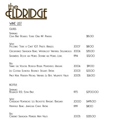 The Most Exclusive Wine List In The City