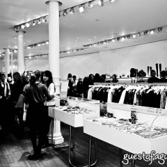 Charity: Water, Shopping For A Cause At Intermix, Soho