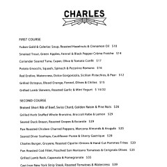 The Charles On West 4th, The Ultimate Dining Experience