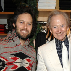 Mark Seliger And Tom Wolfe Get Together At Ralph Lauren