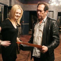 Steve Lewis Meets Lydia Hearst At BlackBook
