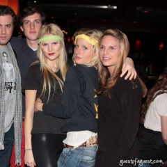 NYC Socials Celebrate Thanksgiving With Lydia Hearst At Lucky Strike Lanes