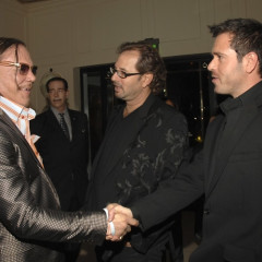 Mickey Rourke Celebrates His Knock Out Win With Los Angeles Confidential Magazine