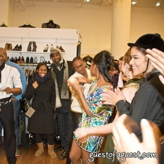Got Green? Book Launch, Trunk Show and Shopping in Soho