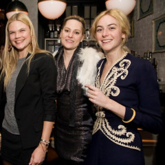 Bobo Plays Hosts To New York City's Most Fashionable Guests At Dinner For Elise Overland