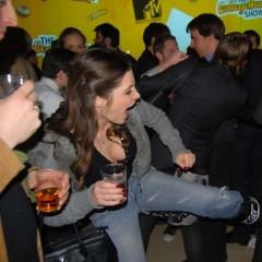 Photo Of The Day: Julia Allison Attempts To Take Down Nick Denton