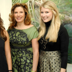 Leila Taghinia-Milani Heller Gallery Hosts Party For The Opening Of Elizabeth Thompson's The Everglades