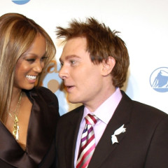 Tyra Banks Is GLAAD To See Clay Aiken At The 20th Annual Media Awards