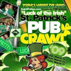 NYC St.Patrick's Day Party List: You Don't Have To Be Irish To Get Lucky Tonight!