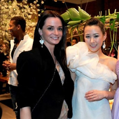 The Crowd Sparkles As Much As The Jewelry At Tana Debut