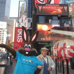 Dylan Candy's Chocolate The Bunny Tours Manhattan, Gives Mr. Pink Elephant A Run For His Money