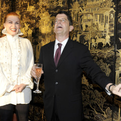 Georgette Mosbacher Hosts A Private Party For The Publication Of Michael Gross's