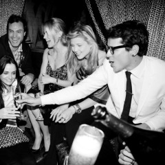 Socials Toasting Spring With Luigi Tadini, Amanda Hearst, And Dom Perignon At Goldbar