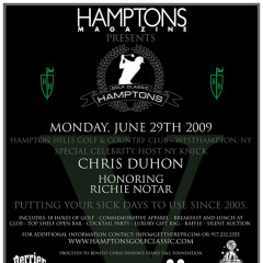 Team Hamptons Reporting Live From The Hamptons Golf Classic!