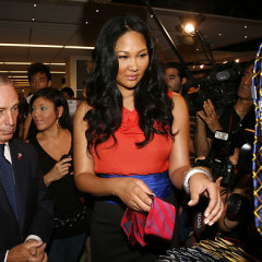 Mayor Bloomberg Shops For JC Penney Ties With The Help Of Kimora Lee Simmons