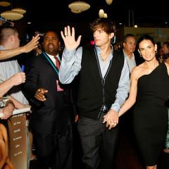 Ashton Kutcher And Demi Moore Attend Premiere Of