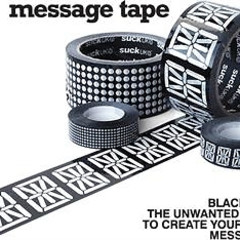 The Best Guests Come Bearing Gifts...Message Tape