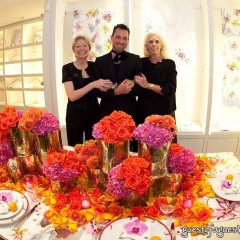 D. Porthault Blooms With Jeff Leatham For Fashion's Night Out