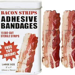 The Best Guests Come Bearing Gifts...Bacon Bandages