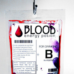 The Best Guests Come Bearing Gifts...The Blood Energy Potion