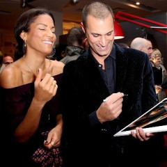 Nigel Barker And Helena Christensen Can It For Charity
