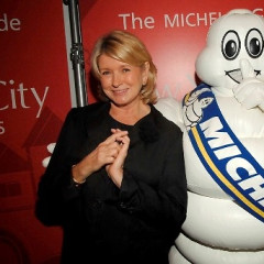 Martha Stewart Gets Giddy Over Michelin Guide's Fifth Birthday