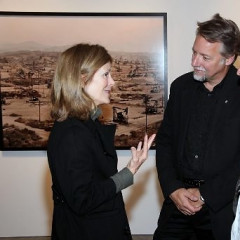 Artist Edward Burtynsky Celebrates New York Opening Of
